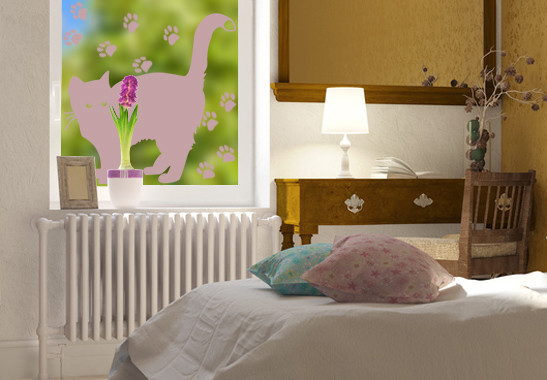 Glasdekor Braves Kätzchen - Bild 4