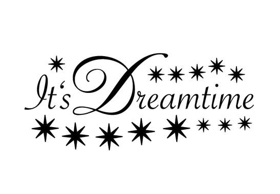 schwarz/weiss Ansicht - Wandtattoo Its Dreamtime