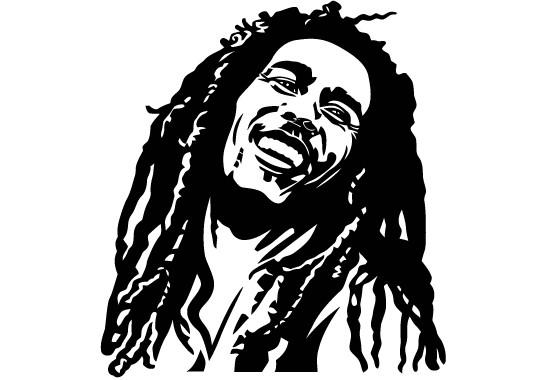 Glasdekor Bob Marley - Bild 6
