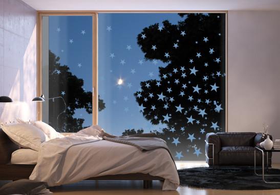 Glasdekor Sternenmeer