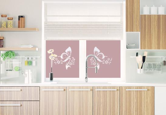 Sichtschutz Schmetterlingspaar - Bild 4
