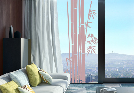 Glasdekor Bambusstrauch - Bild 4