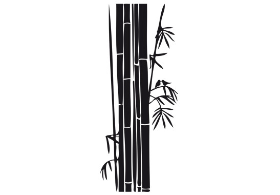 Glasdekor Bambusstrauch - Bild 6