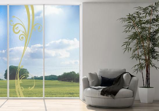 Glasdekor Floraler Schwung - Bild 3
