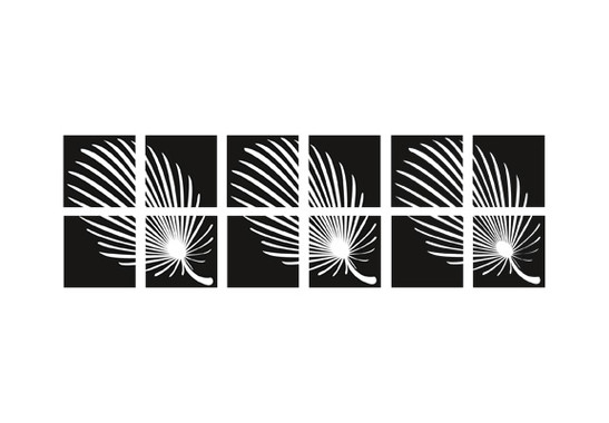 Fliesenaufkleber Feathery Set - Bild 2