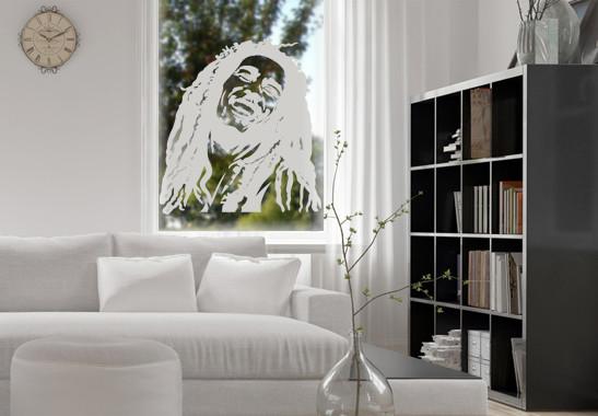 Glasdekor Bob Marley - Bild 2