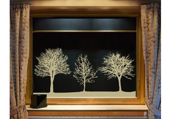 Glasdekor Baumgruppe - Bild 4