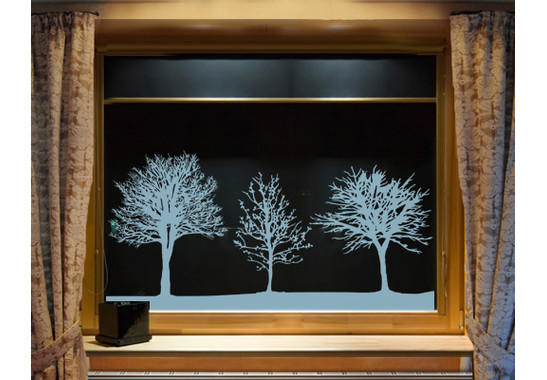 Glasdekor Baumgruppe - Bild 5