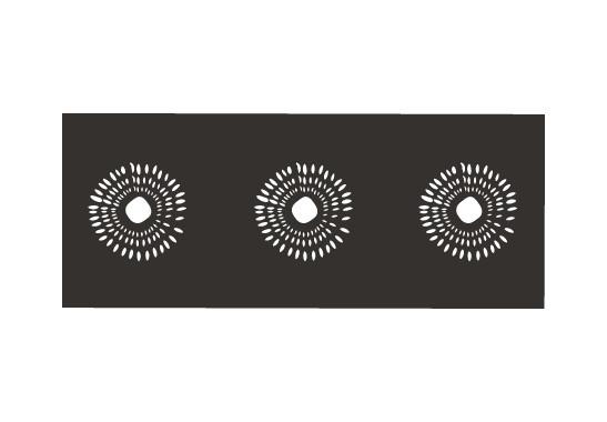Sichtschutz Kiwi Muster - Bild 6