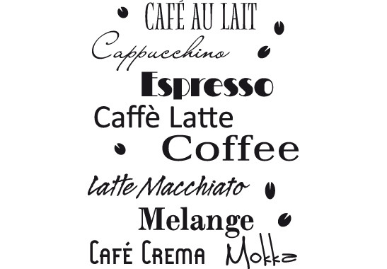 Wandtattoo Coffee Scents - Bild 2