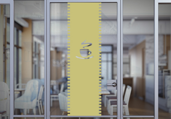 Sichtschutz Café Rollo - Bild 3