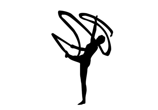 schwarz/weiss Ansicht - Wandtattoo Fantastic Dancer