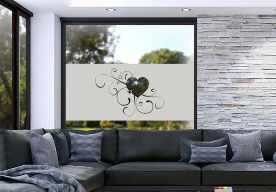 Glasdekor Erblühende Liebe - Bild 2
