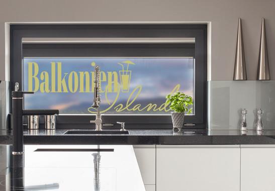 Glasdekor Balkonien Island - Bild 3