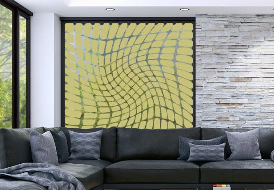 Glasdekor Optische Täuschung - Bild 3