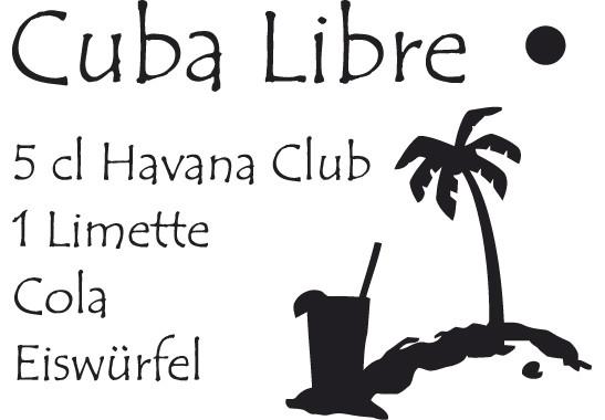 Glasdekor Rezept Cuba Libre - Bild 6