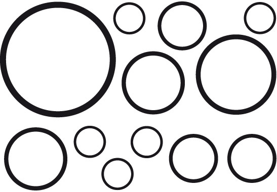 Glasdekor Circles - Bild 6