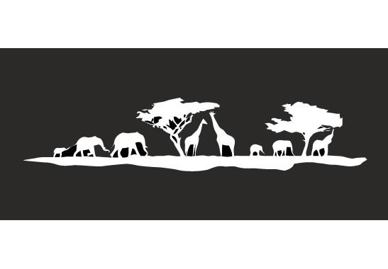Glasdekor Safari Morgen - Bild 6