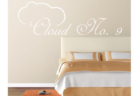 Wandtattoo Cloud No.9