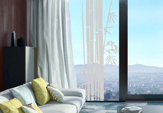 Glasdekor Bambusstrauch - Bild 2