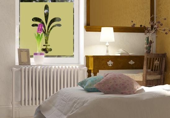 Sichtschutz Lilien Ornamentik - Bild 3