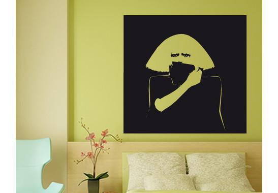 Wandtattoo Wallpaper Gaga II