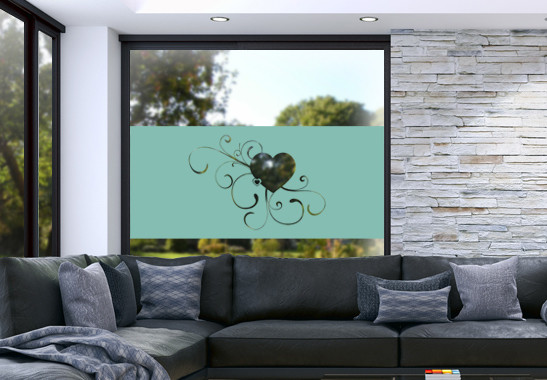 Glasdekor Erblühende Liebe - Bild 5