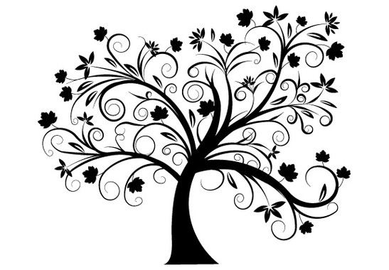 Glasdekor Herbstbaum - Bild 7