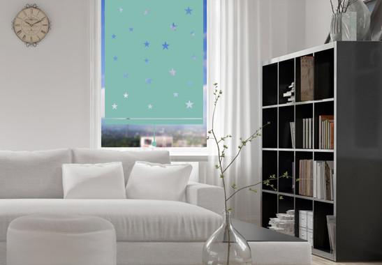 Sichtschutz Nachthimmel Rollo - Bild 5