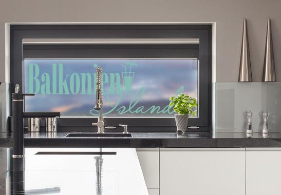 Glasdekor Balkonien Island - Bild 5
