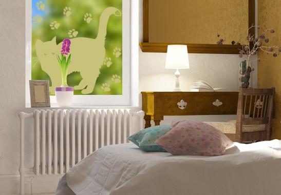 Glasdekor Braves Kätzchen - Bild 3