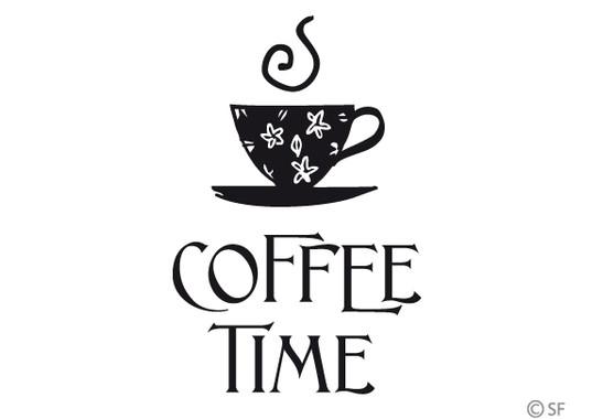 Glasdekor Coffee Time 1 - Bild 6