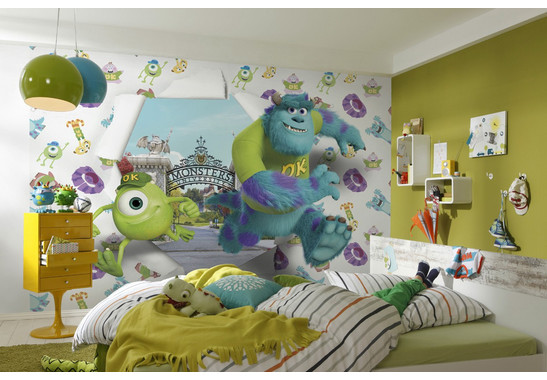Fototapete Monsters University - Bild 1