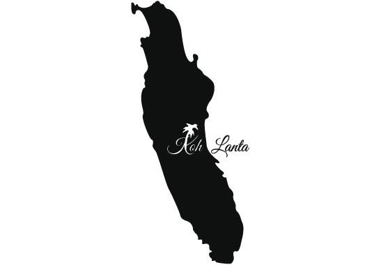Glasdekor Insel Koh Lanta - Bild 6