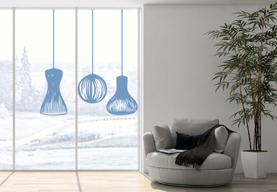 Glasdekor Lampionschirme