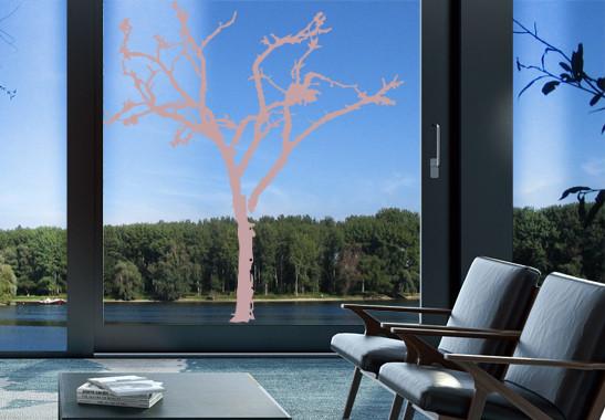 Glasdekor Winterbaum - Bild 4