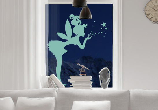 Glasdekor Zauberfee - Bild 5