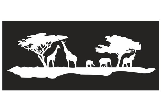 Sichtschutz Afrikanischer Morgen - Bild 6