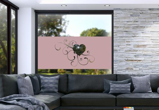Glasdekor Erblühende Liebe - Bild 4