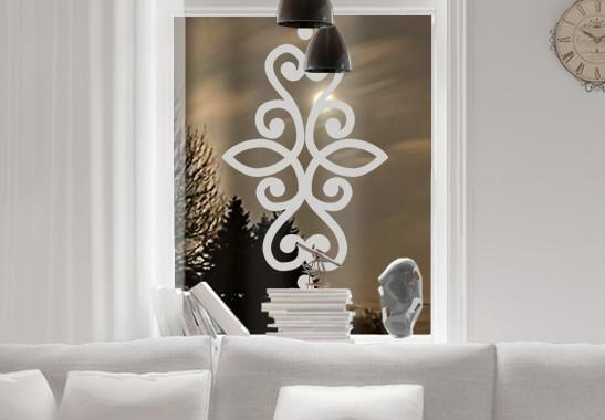 Glasdekor Indisches Ornament - Bild 2