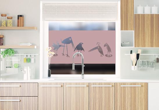 Sichtschutz Verrückte Vögel - Bild 4