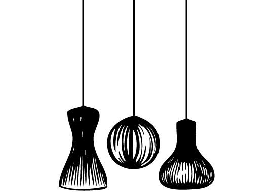 Glasdekor Lampionschirme - Bild 6