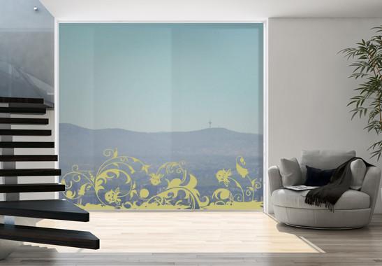 Glasdekor Wilder Garten - Bild 3