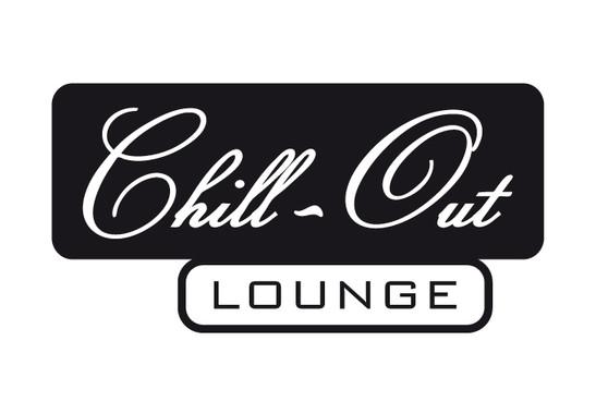 schwarz/weiss Ansicht - Wandtattoo Chill out Lounge