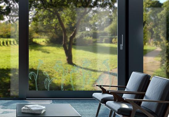 Glasdekor Jugendstil Narzissen - Bild 5