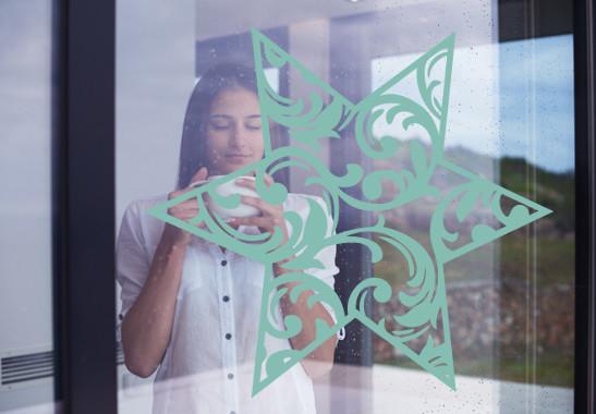 Glasdekor Eisstern - Bild 5