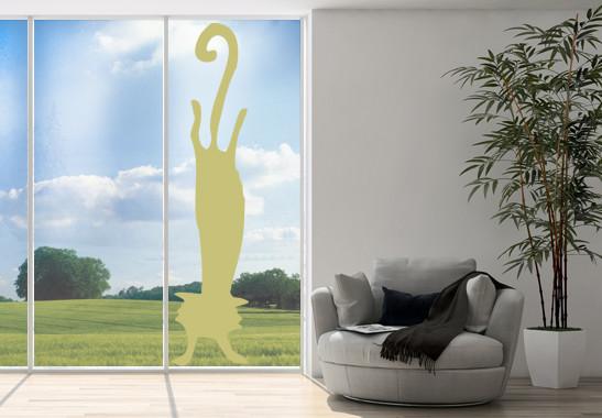 Glasdekor Katzen Handstand - Bild 3