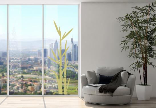 Glasdekor Bambus - Bild 3
