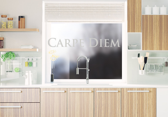 Glasdekor Carpe Diem - Bild 2