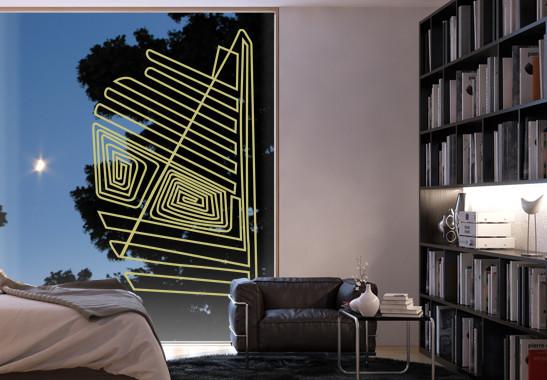 Glasdekor Nazca Linien - Bild 3